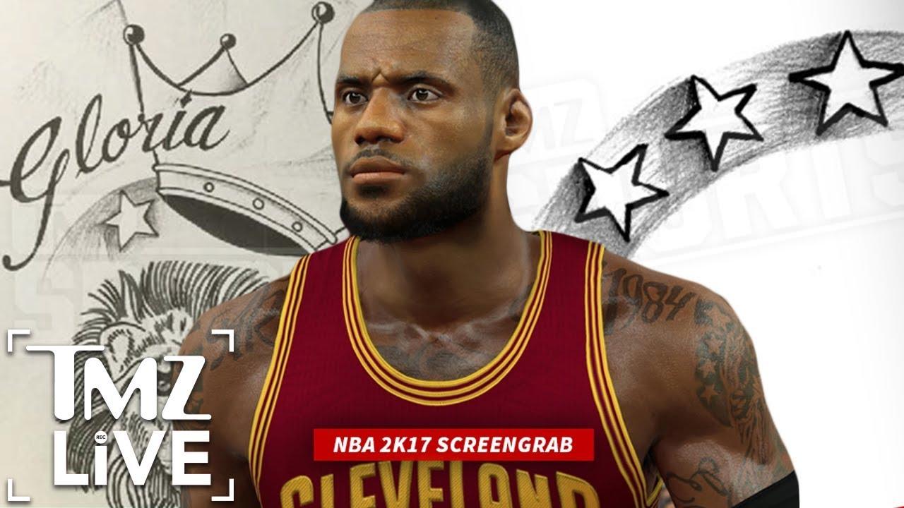LeBron James Tattoo Scandal | TMZ Live - YouTube