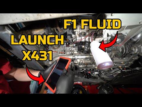 How to FLUSH & BLEED the F1 FLUID on a FERRARI F430