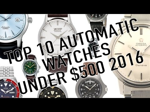 Top 10 Best Automatic Watches Under $500 For 2016 - Hamilton