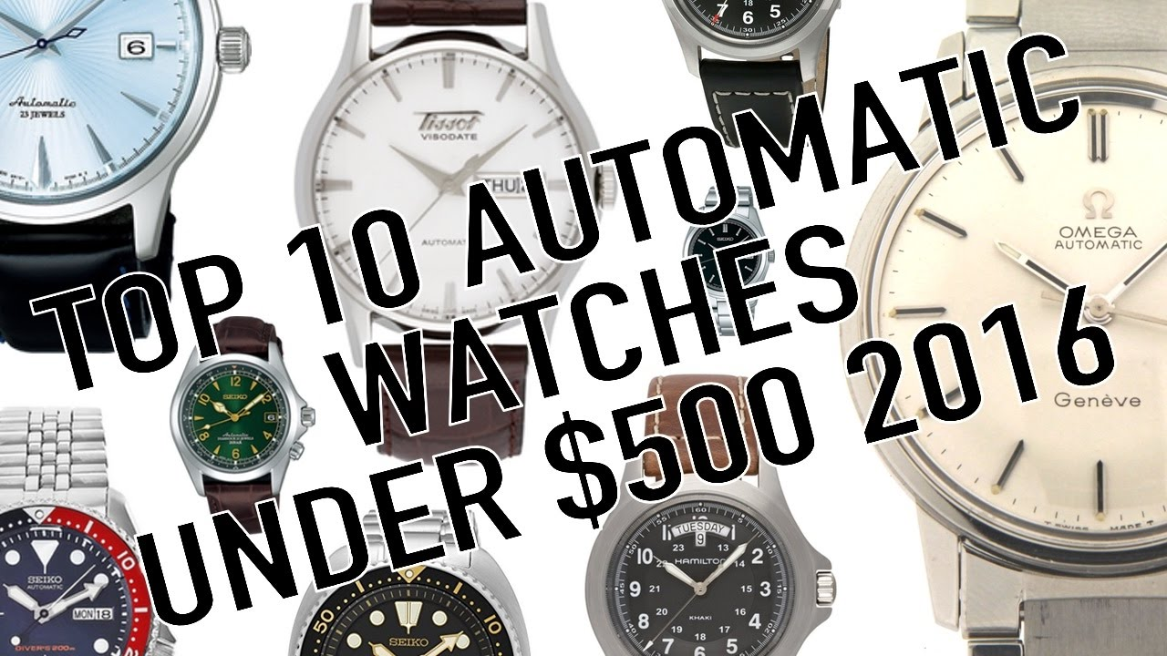 top best for watches automatic youtube watch under dollar men