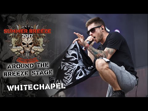 SUMMER BREEZE Open Air 2017 - Around the Breeze Stage with Whitechapel