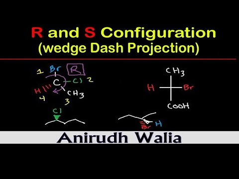 R And S Configuration_Wedge Dash Projection || Stereochemistry | Organic Chemistry Tricks