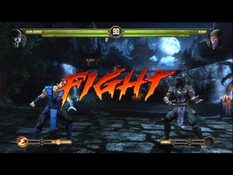 Mortal Kombat 9 - Scorpion and Sub-Zero (Tag Ladder) [Expert] No Matches/Rounds Lost