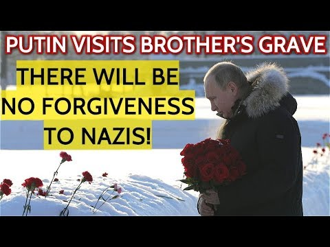 Russia Will Never Forget! Putin Commemorates 75th Anniversary Of Lifting Of St. Petersburg Siege