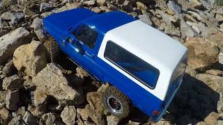 Limited edition rc4wd trail finder 2 Chevy k5 blazer first crawl including fails