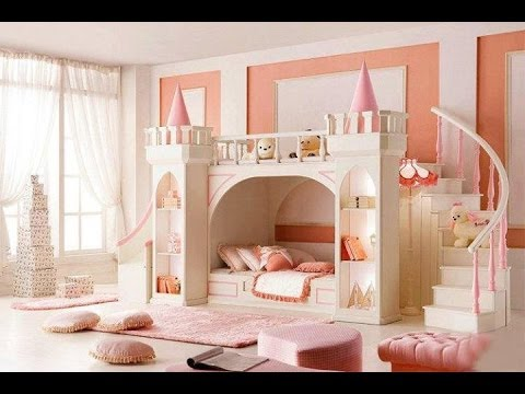 Kids room designs for girls and boys interior furniture ideas for cheap small spaces youtube - Interior design of room for girls ...