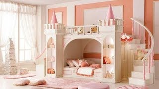 Kids Room Designs - For Girls And Boys , Interior Furniture Ideas For Cheap Small Spaces