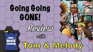 Going Going GONE! Review - with Tom and Melody Vasel