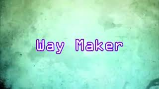 Way Maker - Español ( letra)
