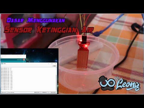 Menggunakan Water Level Sensor dengan Arduino