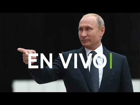 Putin responde a las preguntas de los ciudadanos rusos en 'Línea directa'