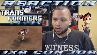 Transformers Prime: Season 1 Episode 8 - Con Job | REACTION!!