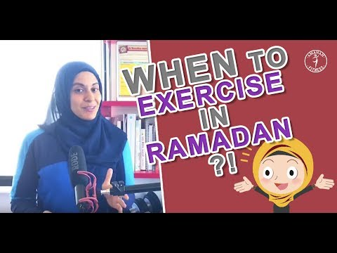 When to Workout During Ramadan!? The Fasting Solution!