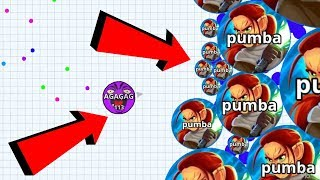 Agar.io Tiny Vs Giant Boss Mode REVENGE Wins/Fails Best Moments Agario Mobile Gameplay