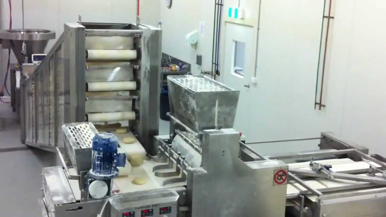 Lebanese Bread Equipment Pita Bread Automatic Cross