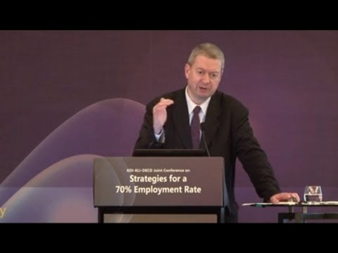 "[KDI] Jean-Luc Schneider ""Fostering Employment in Bad and Good Times"""