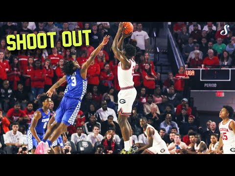 Tyrese Maxey (17 Pts)& Anthony Edwards (23 Pts) Have A Shoot Out - Full Highlights 1.7.20 UK Vs UGA