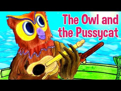 The Owl and the Pussycat Nursery Rhyme by Oxbridge Baby