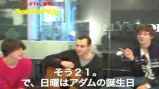 Eight Legs in Japan- Interview & Video