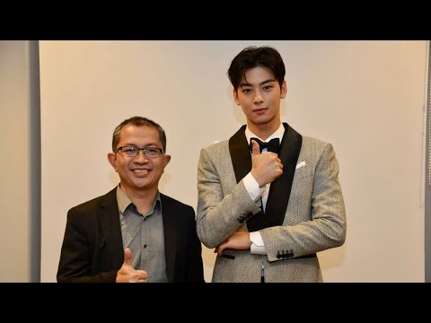 Serunya Photo Bareng CHA EUN WOO di Indonesian Television Awards 2018 Mp3