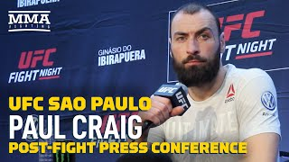 UFC Sao Paulo: Paul Craig Post-Fight Press Conference - MMA Fighting