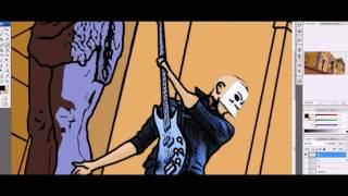 Дама Крести - Создание клипа Внутривенно