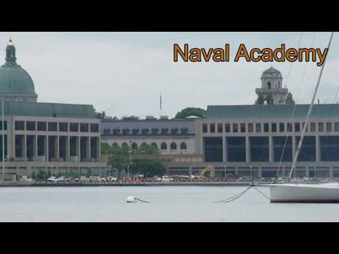 2017 Blue Angel air show at the Annapolis Naval Academy
