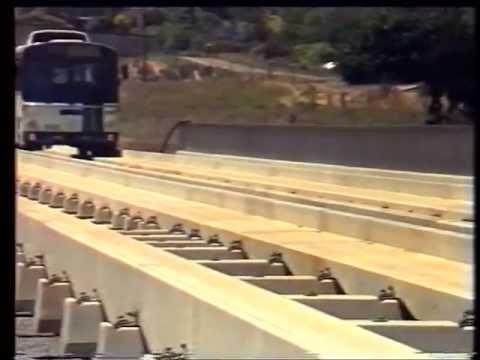 Adelaide O-Bahn planning video 1982