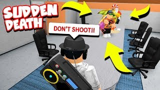 YOUTUBER SUDDEN DEATH SIMON SAYS!! (Roblox Murder Mystery 2)