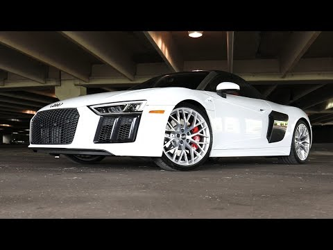2017 Audi R8 V10 Spyder Review! | The Perfect Convertible Supercar?