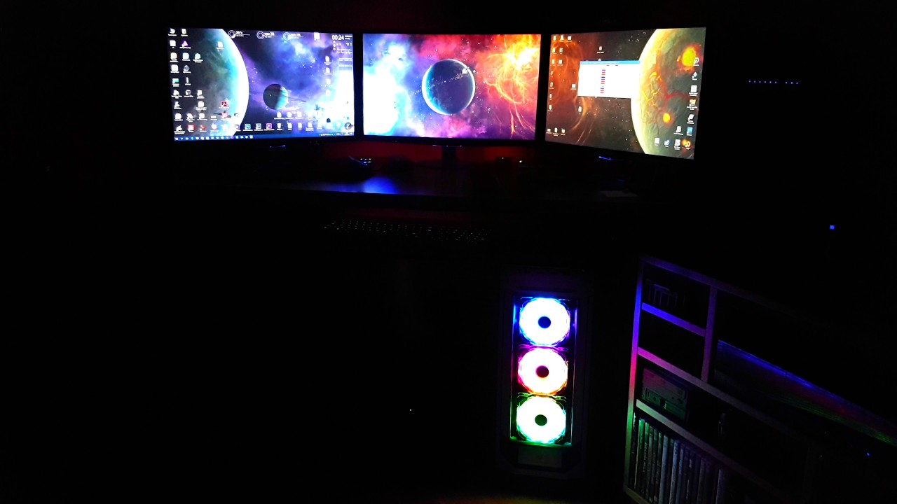 Corsair Lighting Node Pro Amp Hd120 Rgb Led Youtube