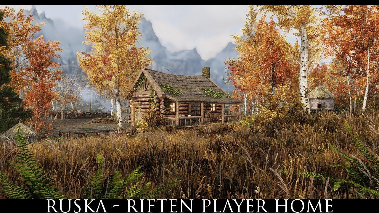 Skyrim SE Mods: Ruska - Riften Player Home