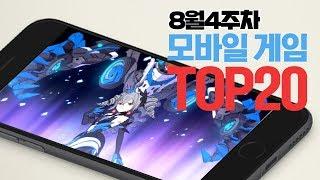 모바일게임순위 TOP20 19년8월4주차 (Weekly…