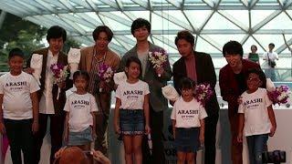 嵐ARASHI 新加坡記者會 ARASHI JET STORM in Singapore |KKBOX速爆娛樂星球