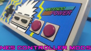 Awesome NES Controller Restoration and Mods!