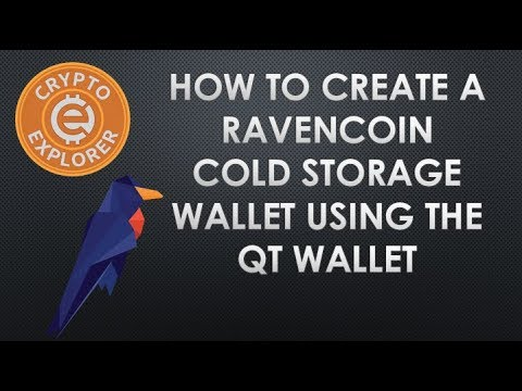 Create A Ravecoin Cold Storage Wallet using the QT Wallet