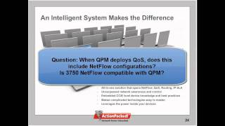 NetFlow and the Cisco Catalyst 3750/3560 - Video 3 of 3: Q and A, Summary