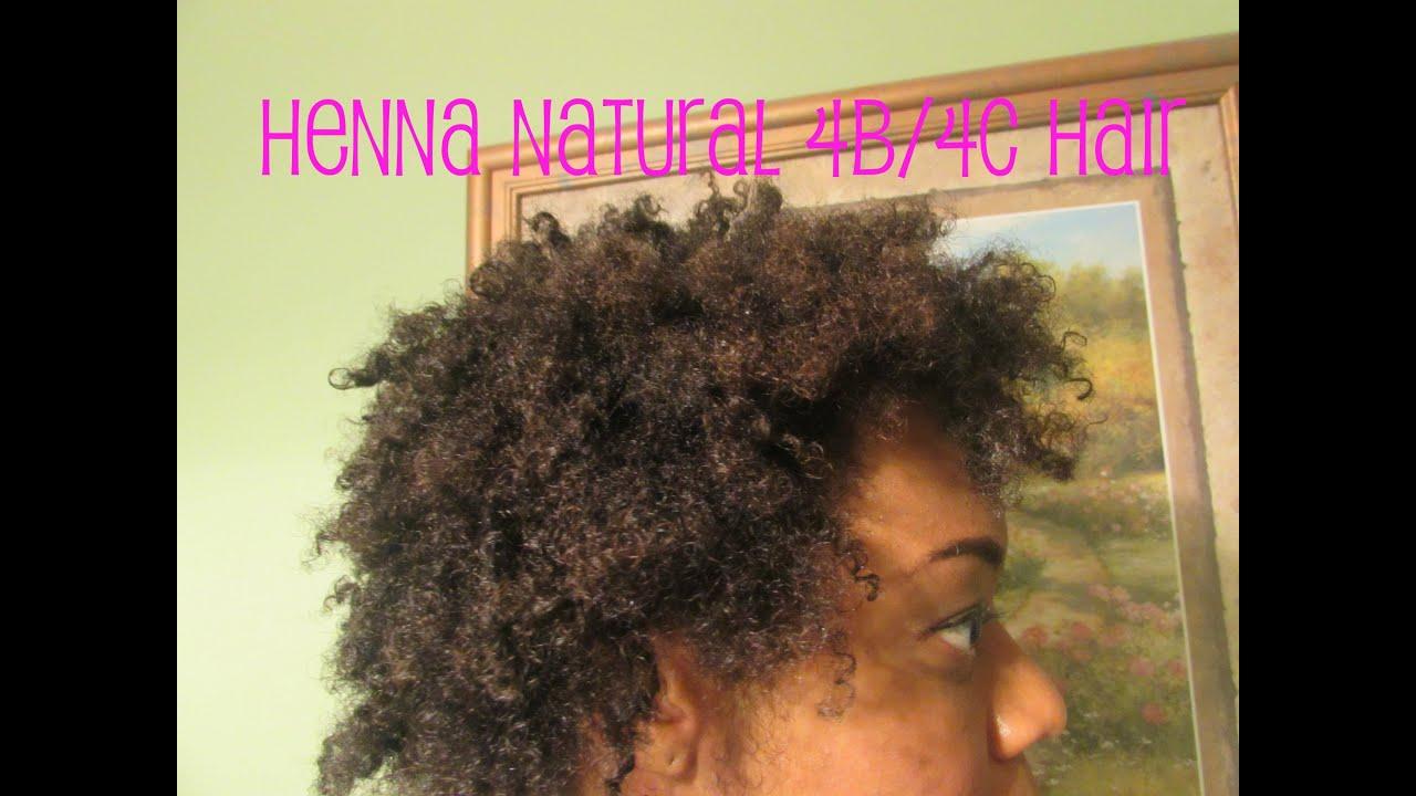 henna natural 4b 4c hair