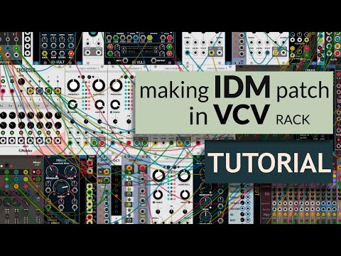 How to make IDM track with modular synth (VCV Rack Tutorial