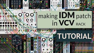 How to Make Acid Techno track with Modular synth (VCV Rack