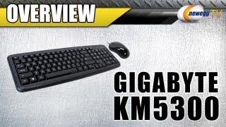 GIGABYTE KM5300 USB Wired Multimedia Keyboard & Mouse Combo Overview - Newegg TV