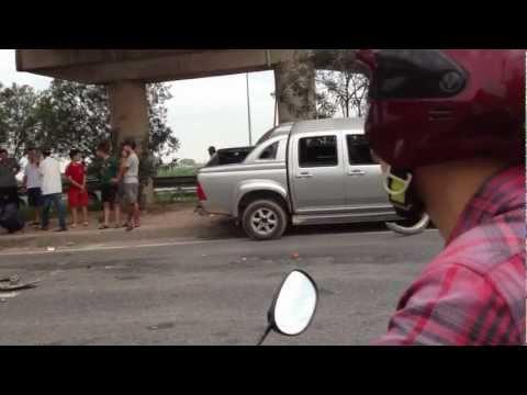 tai nạn giao thông trên cao tốc Lạng Sơn- Hà nội