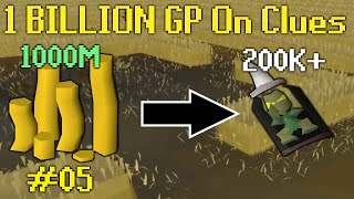 I Spent 1 BILLION GP on Clue Scrolls (#05)