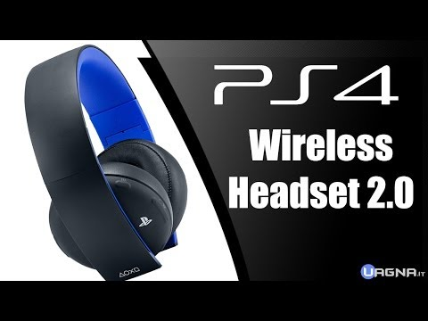 Unboxing Sony Wireless Stereo Headset 2.0 [Cuffie Playstation 4]