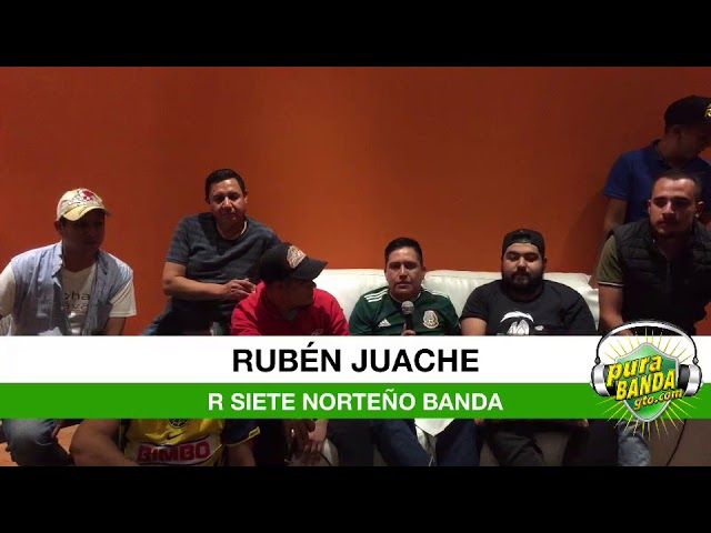 R Siete presentan sus nuevos temas otoño 2018 (Pura Banda Guanajuato)