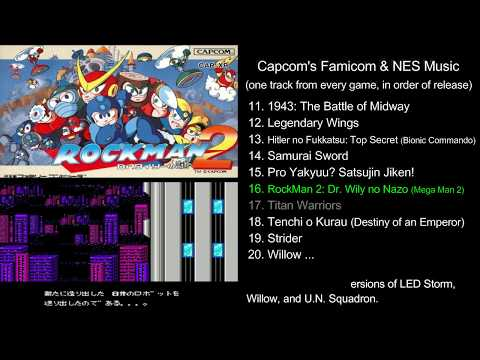 Retro Game Audio — Capcom's Famicom & NES Music - One track