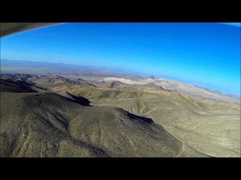 Low Flight Along Nevada Route 50, Loneliest US Highway