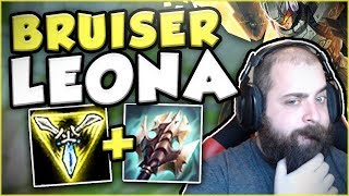is this build too troll new bruiser leona is genius in top leona top gameplay league of legends