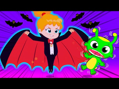 groovy-the-martian-educational-videos-for-kids-|-let's-dress-up-at-halloween-night!
