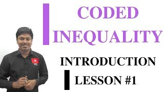 CODED INEQUALITY _ Lesson #1(Introduction)